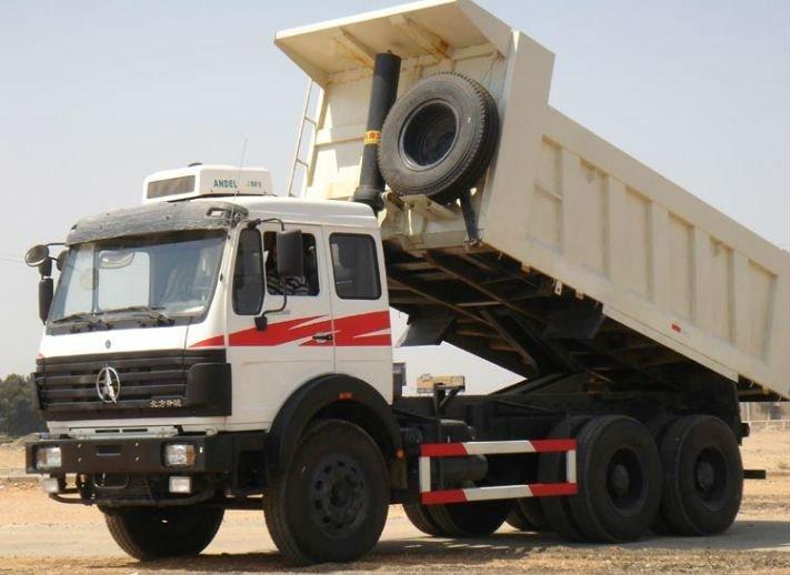 dumber camion bie ben 6 x 4 roues camions benne basculante id de produit 124972741 french. Black Bedroom Furniture Sets. Home Design Ideas