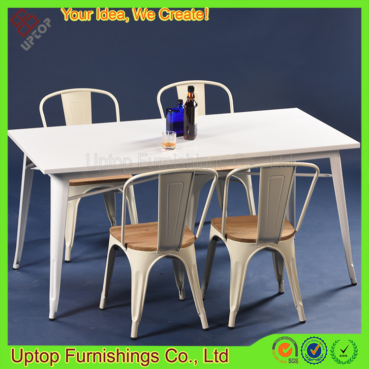 (SP-CT673) Chinese modern canteen used restaurant metal furniture