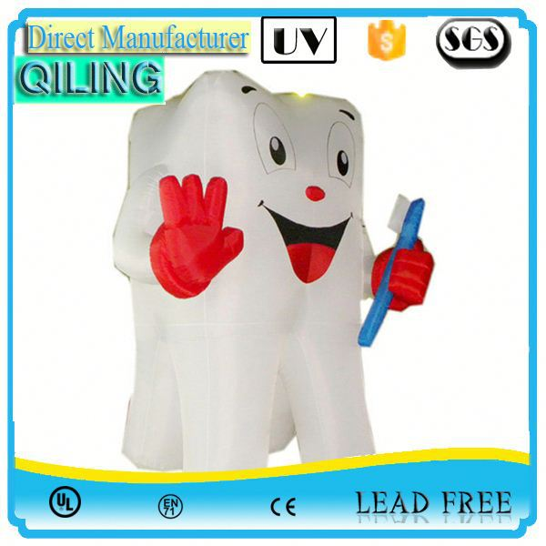 Top selling lovely style inflatable characters parade for sale