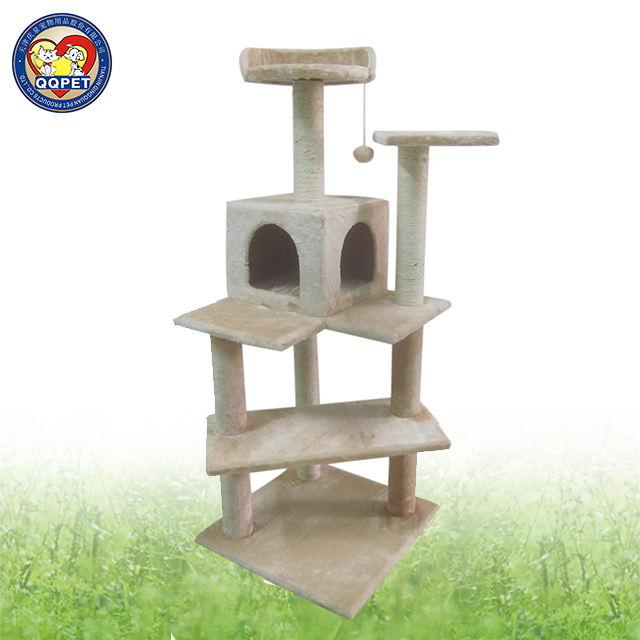 Wholesale new durable luxury cat furniture/cat tree condo/cat toys interactive