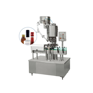 One Head Bottle Capping Machine Ropp Machine For Aluminum Pilfer Proof Caps