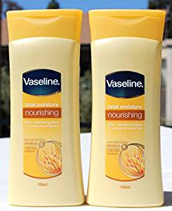 24Hr Nourishing Lotion with Pure Oat Extract Total Moisture by Vaseline 100ml (2 Pack)