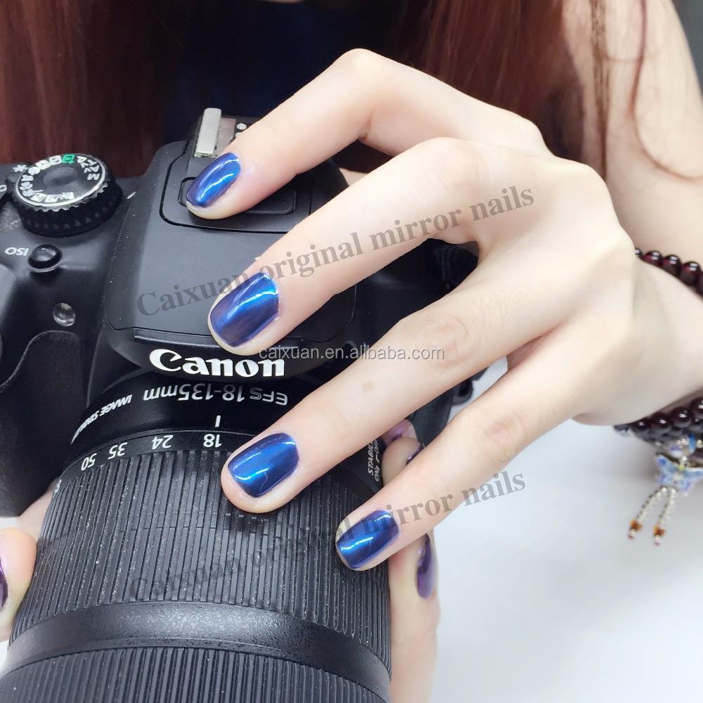 Caixuan Aurora Chrome Powder Series Nail Arts Design Gel Polish ...