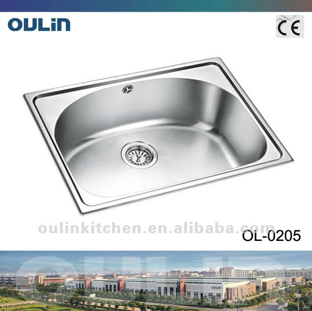 Kitchen sinks stainless steel kitchen washing basin (OL-0205)