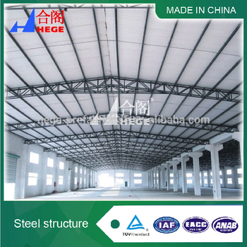 prefab light steel structure building