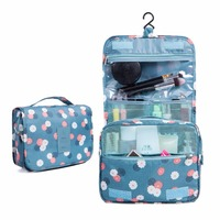 Hanging Ziplock Portable Waterproof Travel Wash Cosmetic Makeup Toiletry Carry Bag Case Pouch Storage Organizer