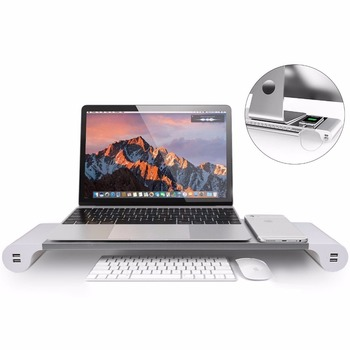 Top corporate business presents ideas gifts sleek monitor laptop stand riser