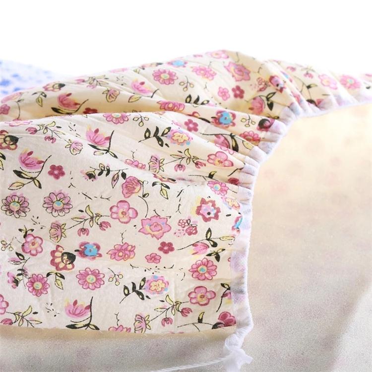 100% Katoen Hittebestendige Strijkplank Cover gedrukt elastische strijkplank cover