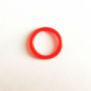 Small red rubber bands
