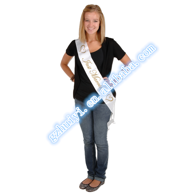 Print Pageant Sashes for Promotion