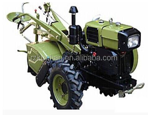 factory supply 2 wheels Power Tiller agricultural diesel engine compact tractor