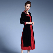 Chinese Elegant Chic Buttons Wedding Evening Dress