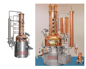 GSTA alcohol making equipment