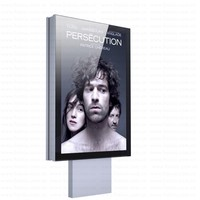 outdoor 3d scrolling mupi light box with LED backlit