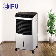new design floor standing mini portable low watt power consumption honeycomb room ice water mist air cooler for home