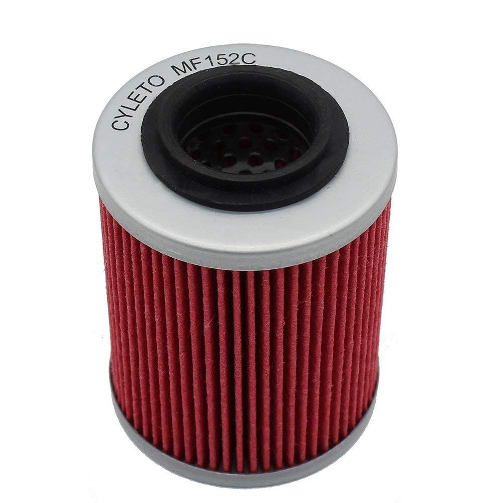 Cyleto Oil Filter for APRILIA TUONO 1000 R FACTORY 1000 - OEM AP0256187 2008 2009/TUONO FIGHTER 1000 - OEM AP0256187 2003