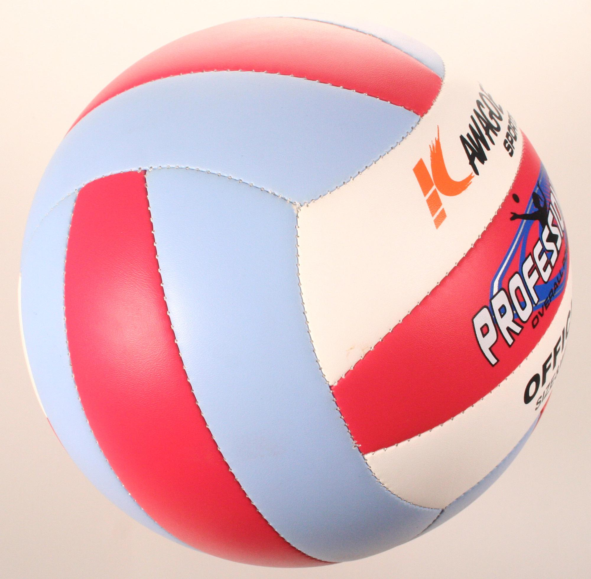 official size rubber volleyball