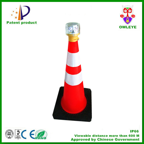 Solar Beacon,Flashing Safety Road Light,Led Lens For Traffic ...