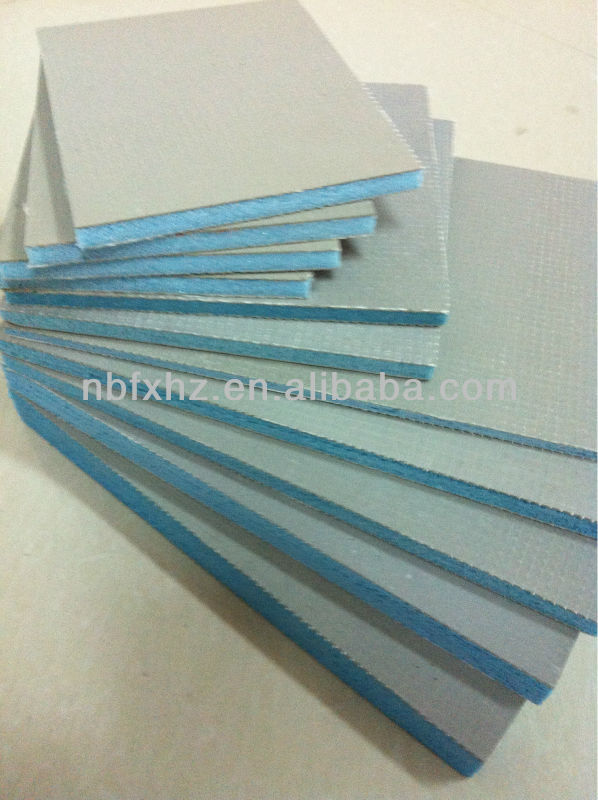 fiber cement polystyrene extrusion board
