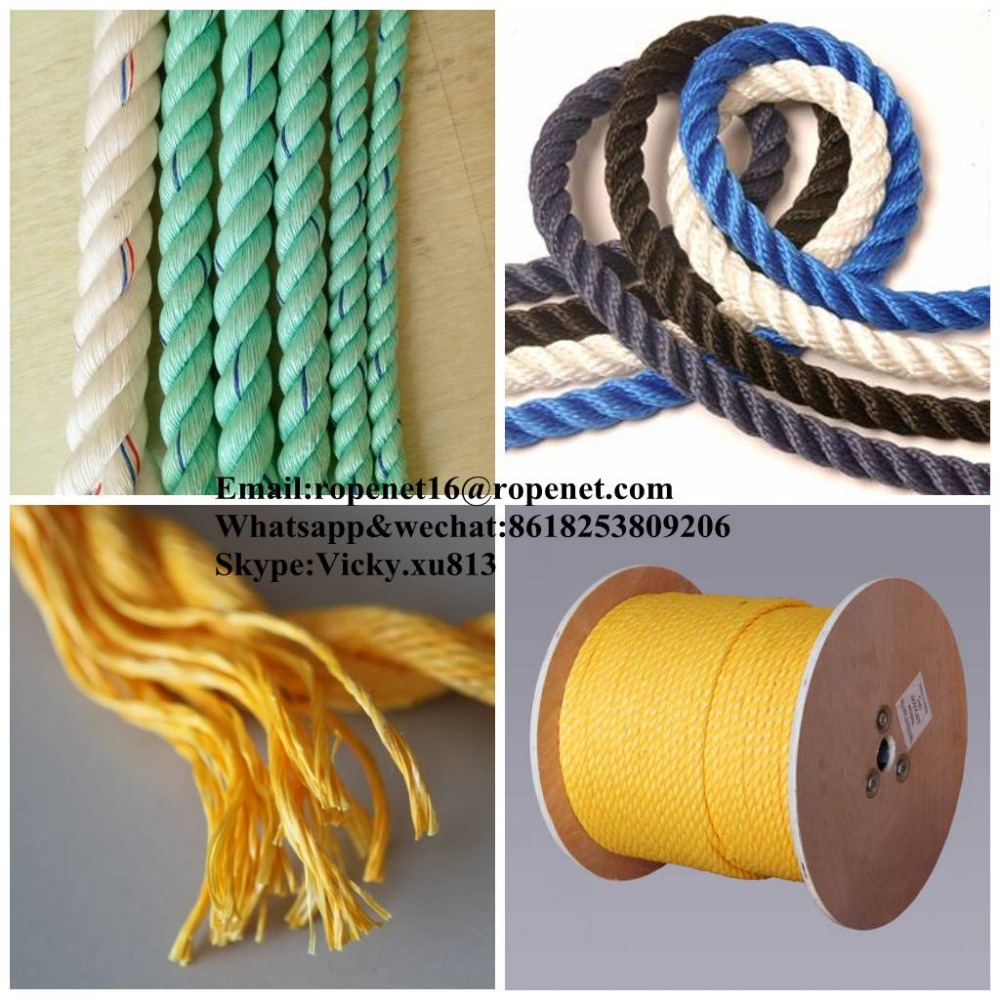 twisted rope 3mm fishing net twine manufacturer from Rope Net Vicky //M:8618253809206 E:ropenet16@ropenet.com