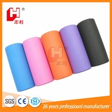 Support wholesale hollow eco-friendly epe foam roller for yoga