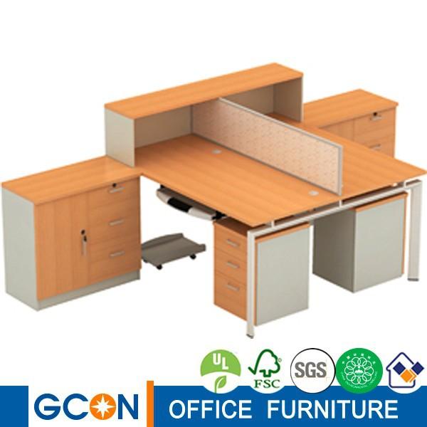 modernes design schreibtisch zwei personen computer tisch holztisch produkt id 60169934264. Black Bedroom Furniture Sets. Home Design Ideas
