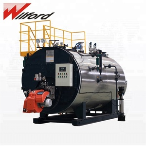 200Hp 150 Psi 6T Natural Gas Fired Steam Boiler