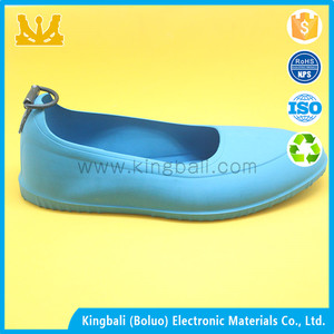 OEM Promotional non-slip silicone galoshes high heel silicone overshoes with spikes