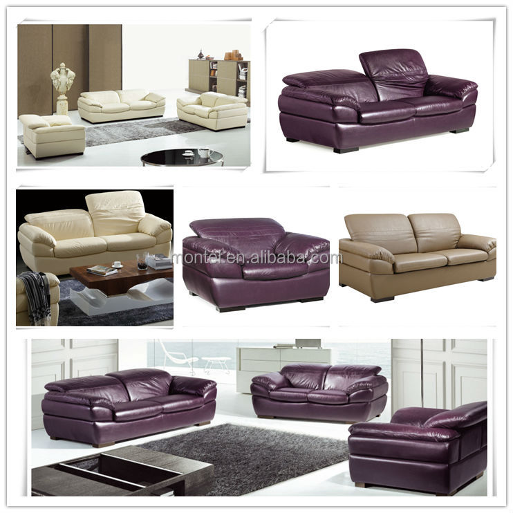 Violet Stanley Leather Sofa Set India