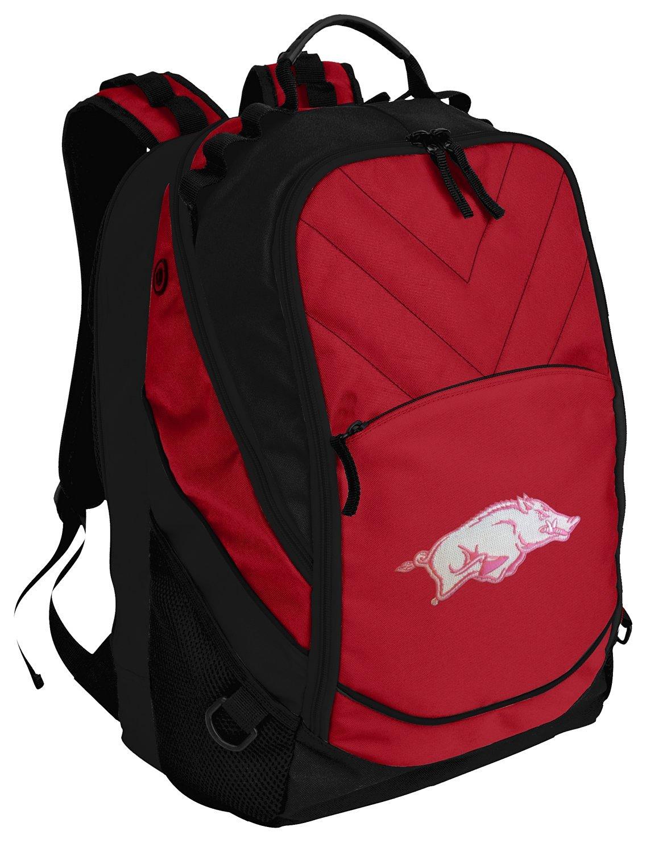 Arkansas Razorbacks Backpack Red Womens University of Arkansas Laptop Computer Bags
