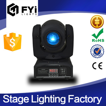 party disco dj stage light mini gobo projector dmx 512 sharpy led spot moving head light