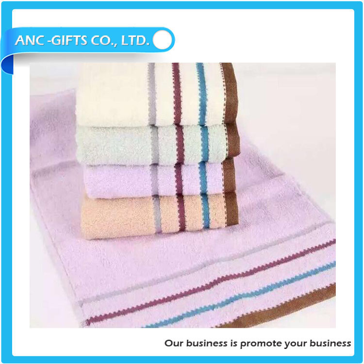 Most popular customize best quality home towel print logo hand towel 100% cotton