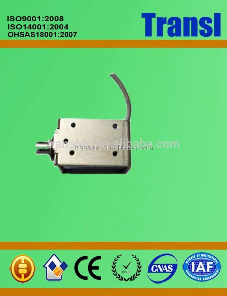 5.8 N Keeping Force Tractor Pull Push Miniature Solenoid