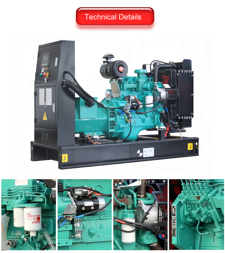 AOSIF Diesel Generator Manufacture With Cummins Engine