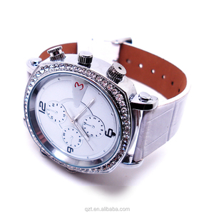 QZT 720P HD waterproof security wrist watch lay hidden camera watch