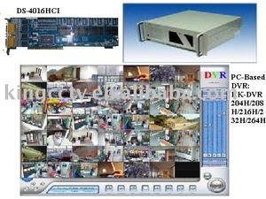 High quality PC Based DVR HK-DVR 204H 208H 216H 232H 264H 4 8 16 32 64 ch  dvr system