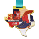 Special design high quality custom 3d half marathon finisher medal