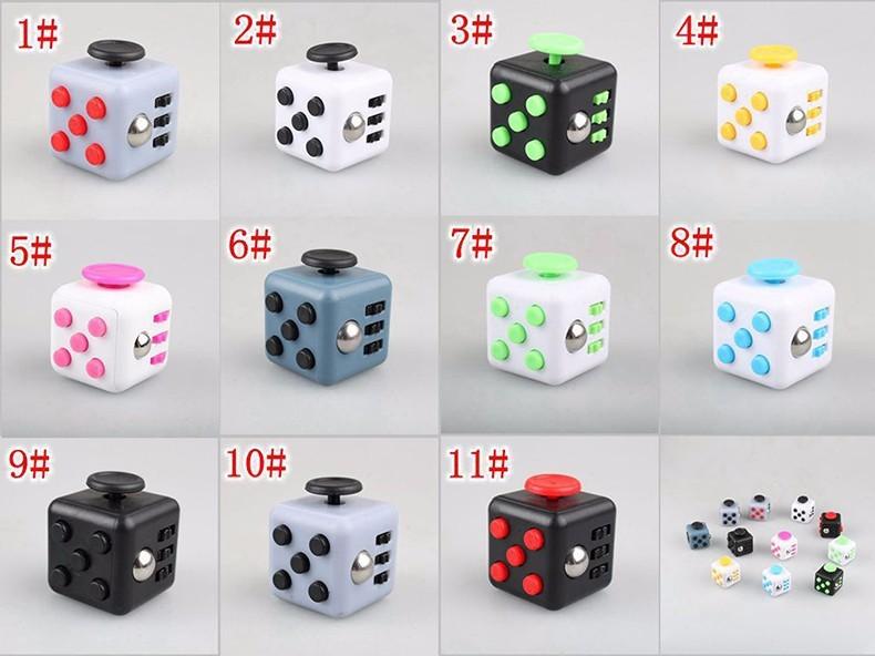 Mini Size 3.2*3.2cm Popular Fidget Cube Squeeze Fun Stress ...