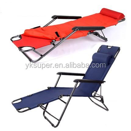popular folding portable sleeping chair with armrest - buy