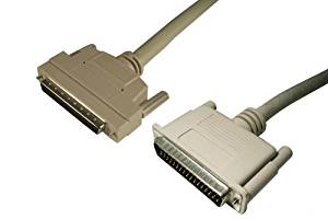 3 FT CEN50 Male Electronics w//Active High Byte Termination p//n C4010-3PAM-AT: HD68 Male Data Storage Cables