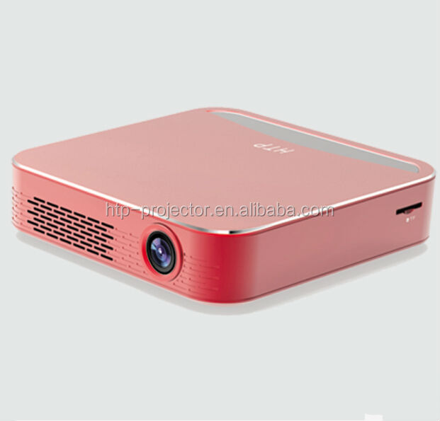 HTP HSDLP200 140 mins long battery life travel projector portable projector