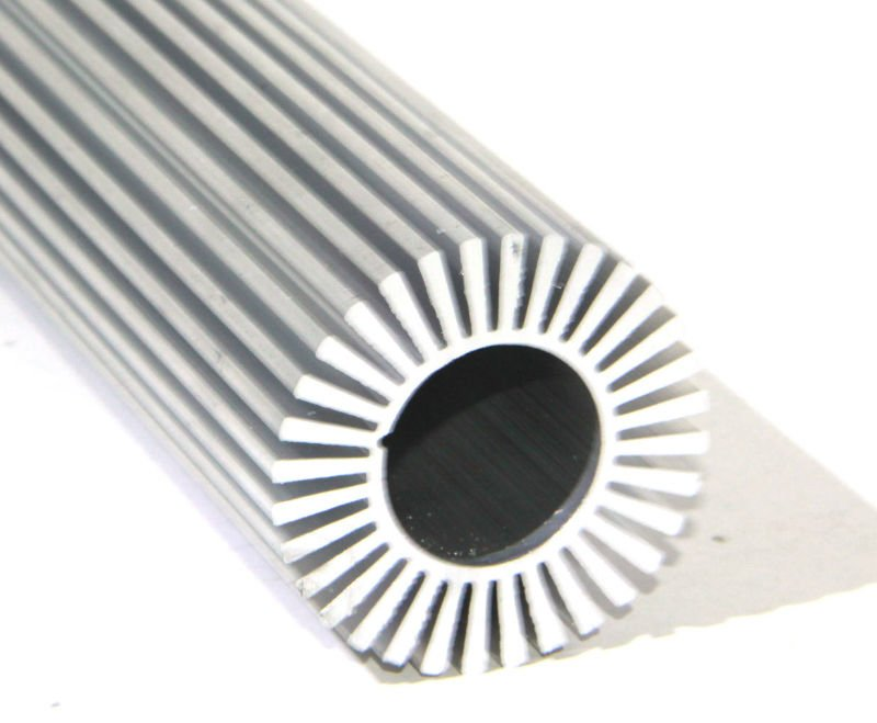 Oval Aluminium extrusion profile