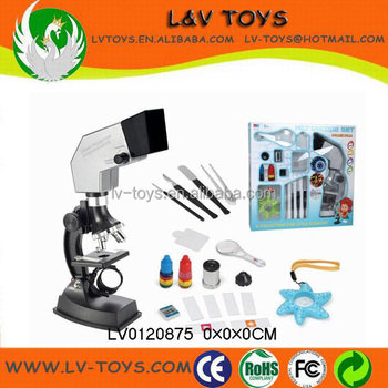 900x Microscope Toy Kids Science Projects Education Toys With Light
