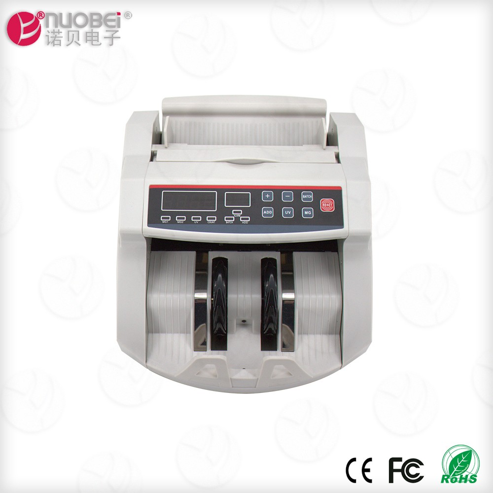 NUOBei brands portable mini cash counting machine with fake note detector
