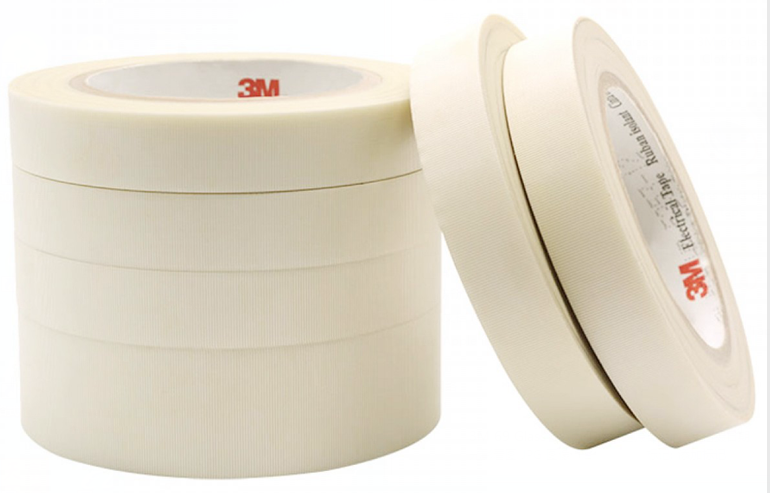 Original 3M 69 27 Silicone Pressure-Sensitive Adhesive Fiber FPC Glass Cloth Tape For Coil Transformer