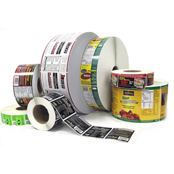 Custom packaging printing labels