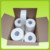 Jumbo Tissue Paper Rolls Recycled Wood Pulp Disposable Hand Towel Roll Of Paper