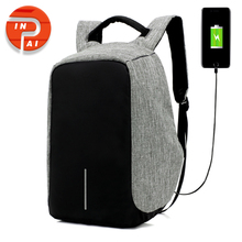 17 inch laptop backpack anti theft security bag with usb port notebook bagpack for men and women