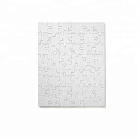 Custom print children cardboard 100 200 150 500 1000 pieces jigsaw puzzle Sublimation DIY Blank Puzzle Manufacturer