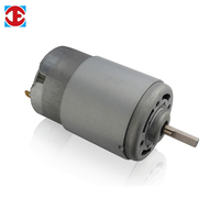 Waterproof 12v electric permanent magnet dc motor for Hair Dryer